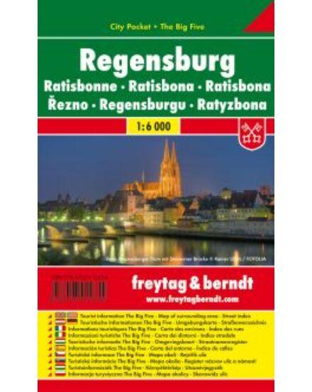 Cartographia  - Regensburg City Pocket várostérkép