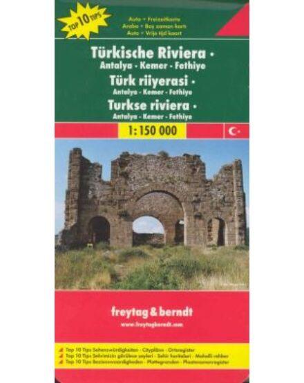 Cartographia  - Török Riviéra (Antalya) térkép