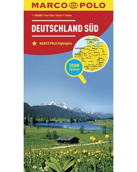 Cartographia  - Németország résztérkép - Németország-Dél