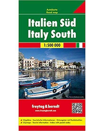 Cartographia  - Dél-Olaszország térkép