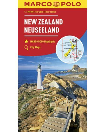 Cartographia  - Új-Zéland térkép