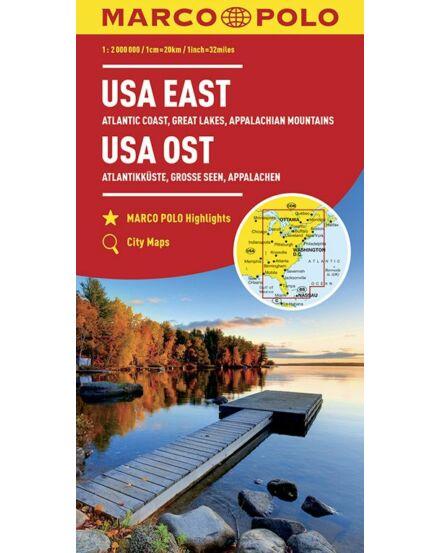 Cartographia  - USA kelet térkép