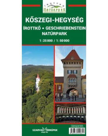 Cartographia  - Kőszegi-hegység, Írottkő, Geschriebenstein Natúrpark turistatérkép