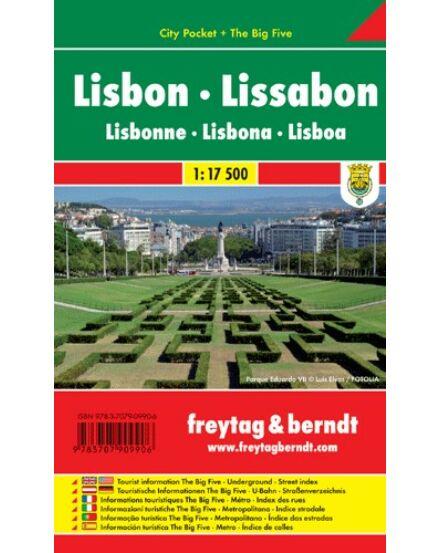 Cartographia  - Lisszabon City Pocket várostérkép