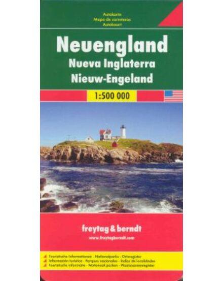 Cartographia  - New England térkép