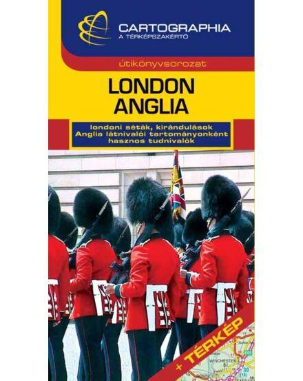 Cartographia  - London, Anglia útikönyv 2012