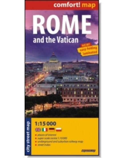 Cartographia  - Róma, Vatikán térkép