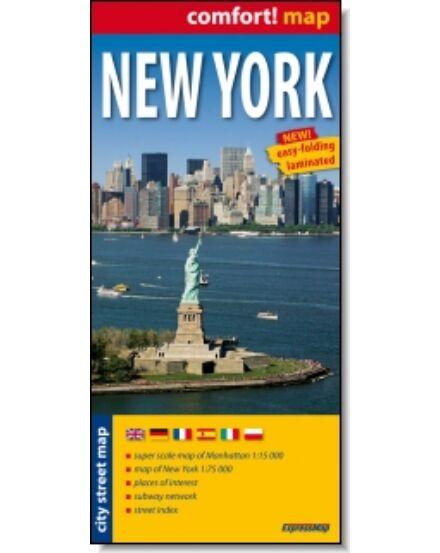 Cartographia  - New York térkép