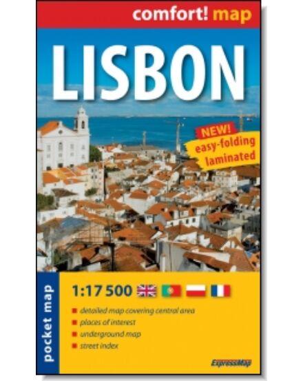 Cartographia  - Lisszabon zsebtérkép