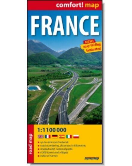 Cartographia  - Franciaország térkép