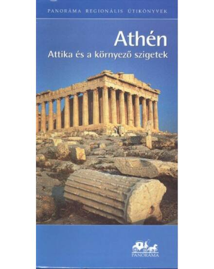 Cartographia  - Athén, Attika és a környező szigetek  útikönyv