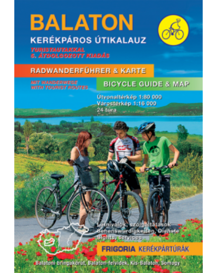 Cartographia  - Balaton kerékpáros útikalauz