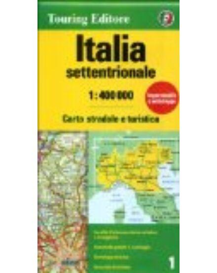 Cartographia  - Olaszország - Észak autótérkép