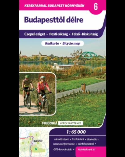 Cartographia  - Budapesttől délre kerékpáros