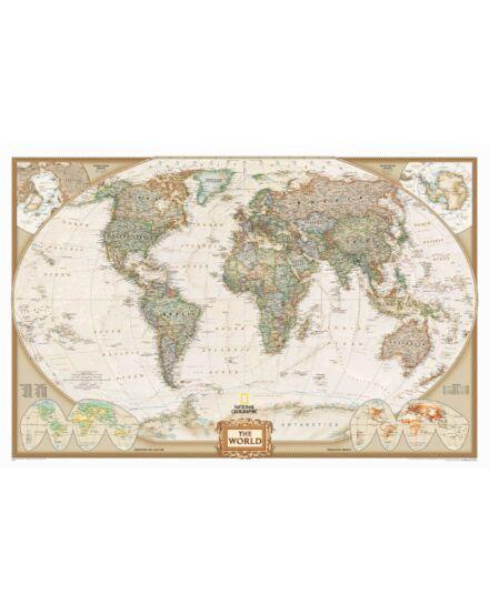 Cartographia  - Világtérkép antik  - National Geographic