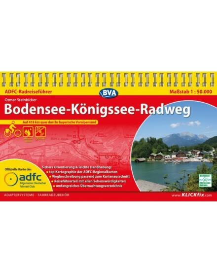 Cartographia  - Bodeni-tó / Köngisse kerékpáros kalauz
