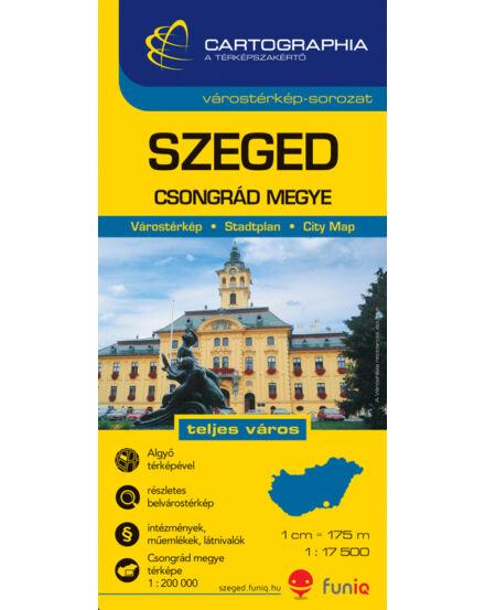 Szeged Varosterkep Csongrad Megye Terkepe