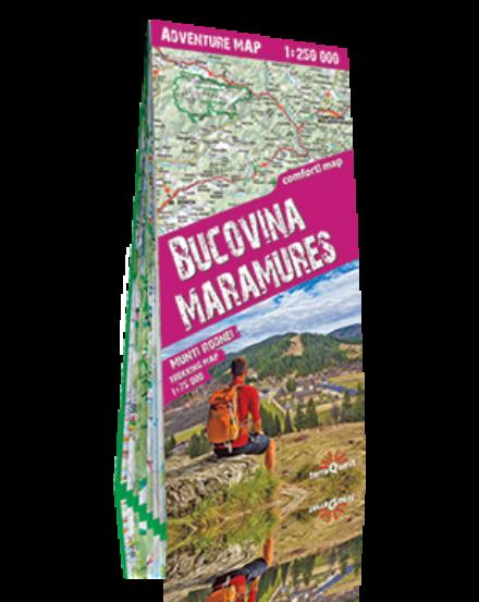 Cartographia  - Bukovina, Máramaros Comfort térkép