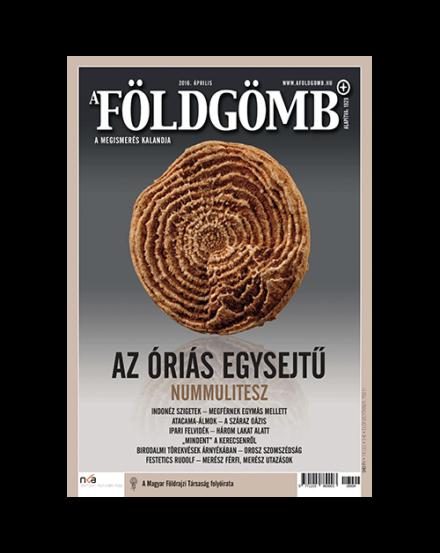 Cartographia  - Földgömb újság 2016. április