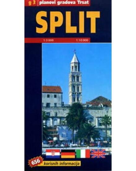 Cartographia  - Split várostérkép