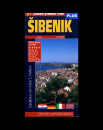 Cartographia  - Sibenik várostérkép