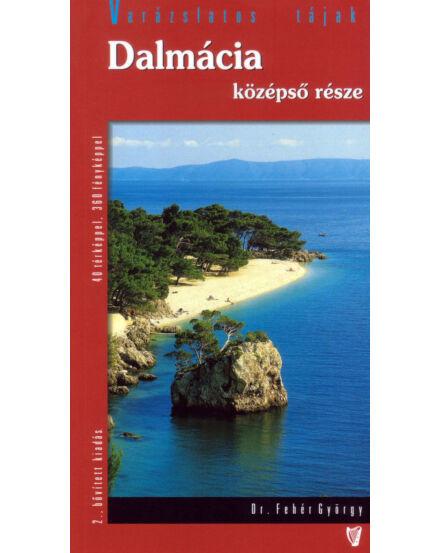 Cartographia  - Dalmácia középső része útikönyv