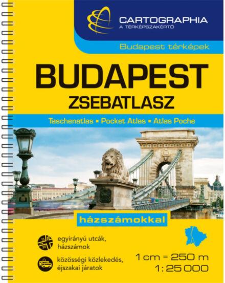 Cartographia  - Budapest zsebatlasz
