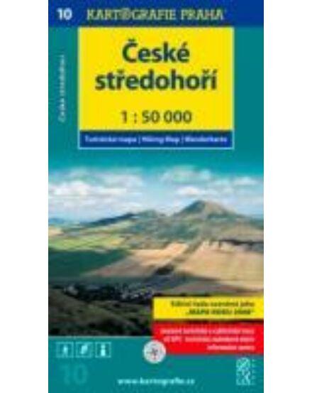 Cartographia  - TM 10 Cseh-középhegység/Ceské stredohori turistatérkép