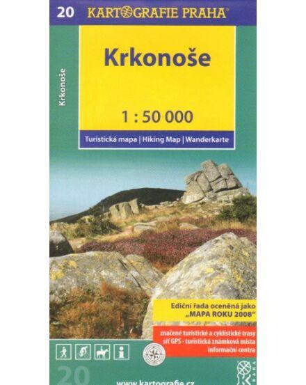 Cartographia  - TM 20 Óriás-hegység/Krkonose turistatérkép