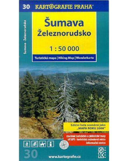 Cartographia  - TM 30 Sumava – Zeleznorudsko turistatérkép