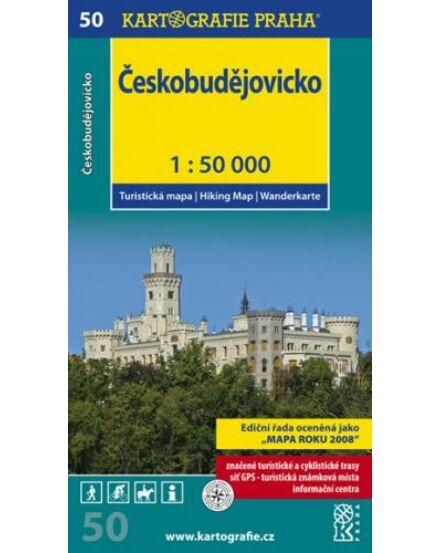 Cartographia  - TM 50 Ceské Budejovice/Ceskobudejovicko turistatérkép