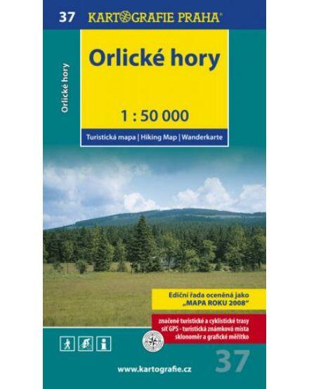 Cartographia  - TM 37 Orlicei-hegység/Orlické hory turistatérkép