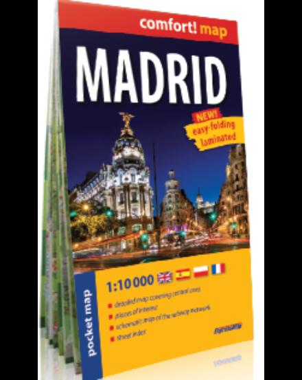 Cartographia  - Madrid Comfort zsebtérkép