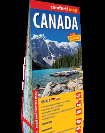 Cartographia  - Kanada Comfort térkép