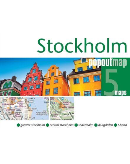 Cartographia  - Stockholm PopOut várostérkép