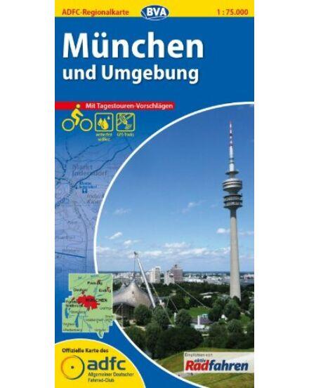 Cartographia  - München kerékpáros régiótérkép