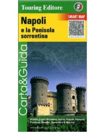 Cartographia  - Nápoly és a Sorrentói-félsziget szabadidőtérkép
