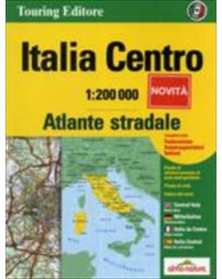 Cartographia  - Közép-Olaszország atlasz