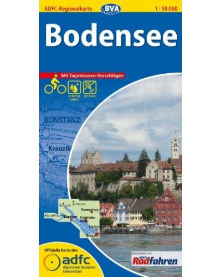 Cartographia  - Bodeni-tó kerékpáros régiótérkép
