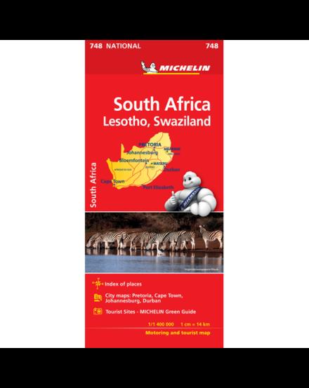 Cartographia  - Afrika-Dél térkép - 0748 Michelin