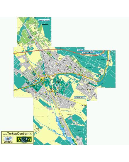 Cartographia  - Gödöllő várostérkép