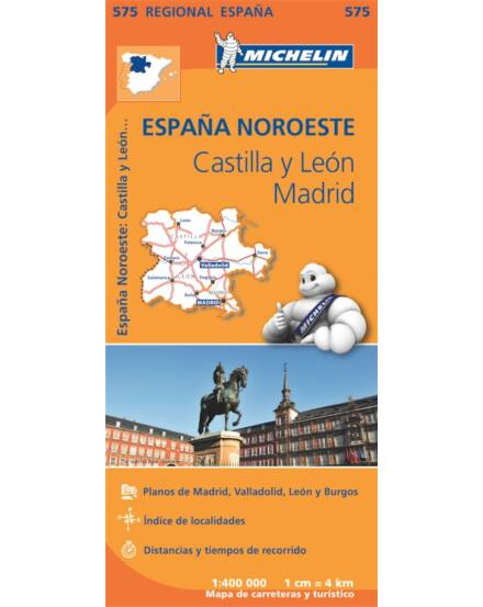 Cartographia  - Spanyolország észak térkép