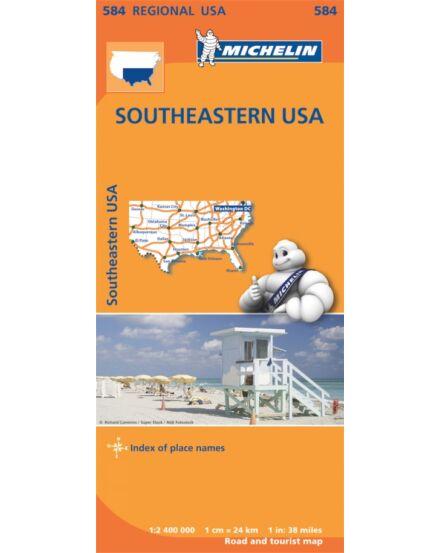 Cartographia  - USA dél-kelet résztérkép