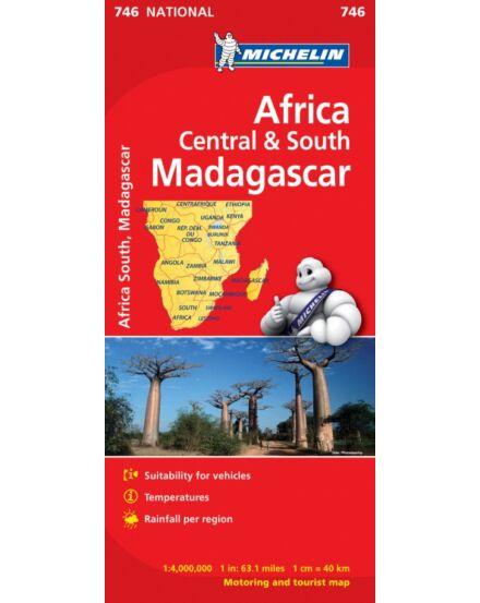 Cartographia  - Afrika közép - dél és Madagaszkár térkép