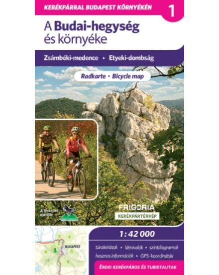 Cartographia  - A Budai-hegység és környéke kerékpáros és turistatérkép