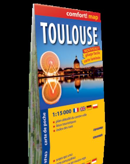 Cartographia  - Toulouse zsebtérkép