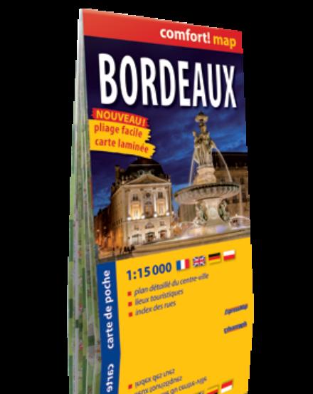 Cartographia  - Bordeux Comfort zsebtérkép