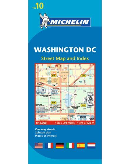 Cartographia  - Washington DC belvárostérkép