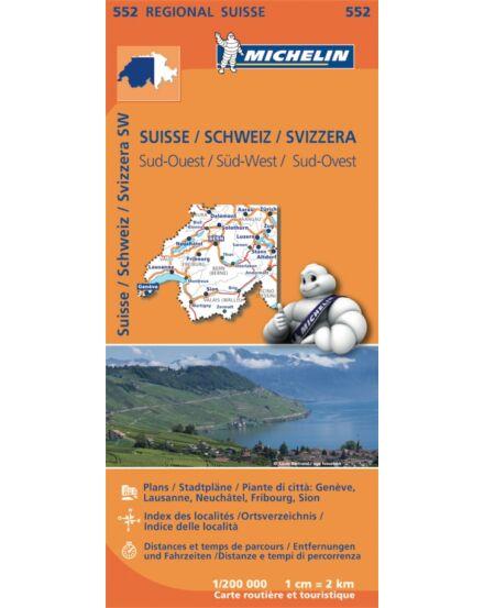 Cartographia  - Svájc dél térkép