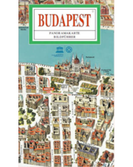Cartographia  - Budapest Panorámatérkép (angol)